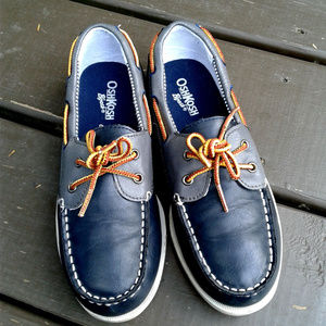 Oshkosh b'gosh boy slip on shoes size 2